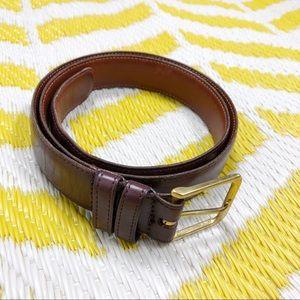 Coach | Burgundy Leather Belt 34/85